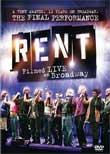 RENT (DVD Code1) - Live on Broadway