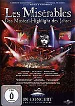 LES MISERABLES 25th Ann. Concert (DVD Code2)