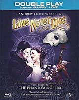 LOVE NEVER DIES - Double-Play (Blu-Ray & DVD)