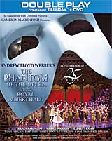 THE PHANTOM OF THE OPERA Double-Play (Blu-Ray & DVD)