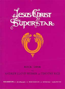 JESUS CHRIST SUPERSTAR Vocal Selections (deutsch)