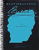 ELISABETH Klavierauszug