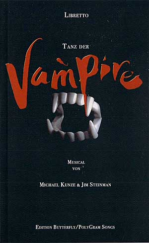 TANZ DER VAMPIRE Libretto