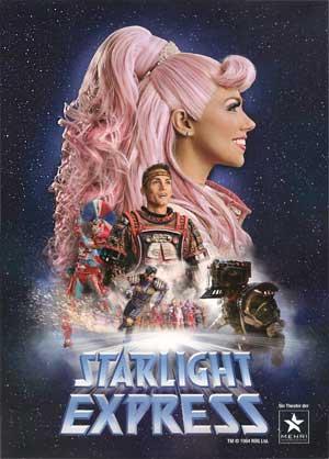 STARLIGHT EXPRESS Programmheft Bochum