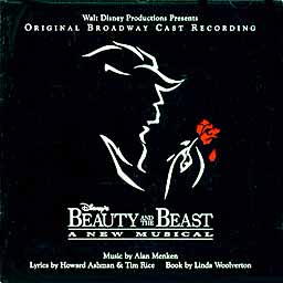 BEAUTY AND THE BEAST (1994 Orig. Broadway Cast) - CD