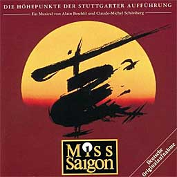 MISS SAIGON (1995 Orig. Stuttgart Cast) - CD