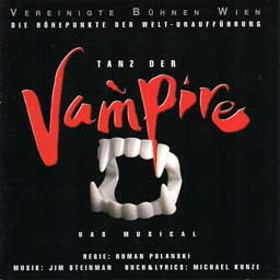 TANZ DER VAMPIRE (1998 Wien Cast) Highlights - CD