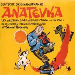 ANATEVKA (1968 Orig. Hamburg Cast) - CD