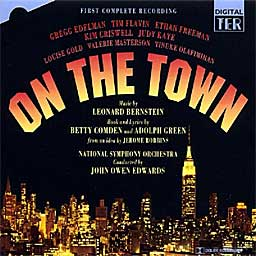 ON THE TOWN (1995 Studio Cast) Compl. - 2CD