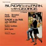 SUNDAY IN THE PARK WITH GEORGE (1984 Orig. Broadw.) - CD