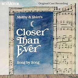 CLOSER THAN EVER (1990 Orig. Cast Recording) - 2CD