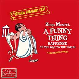 A FUNNY THING HAPPENED... (1962 Orig Broadway Cast) - CD