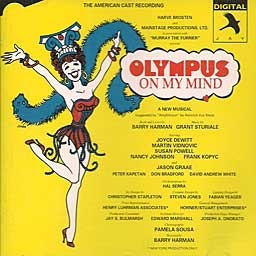 OLYMPUS ON MY MIND (1987 American Cast Rec.) - CD
