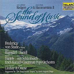SOUND OF MUSIC (1988 Studio Cast) - CD