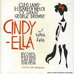 CINDY-ELLA (1962 Orig. Cast Recording) - CD