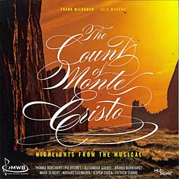 THE COUNT OF MONTE CRISTO (2008 Concept Cast) - CD