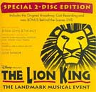 THE LION KING (1998 Orig. Broadway Cast) & Bonus-DVD - CD