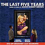 THE LAST 5 YEARS (2013 Off-Broadway Cast) - CD