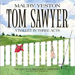 TOM SAWYER (2013 San Francisco Ballet) - 2CD