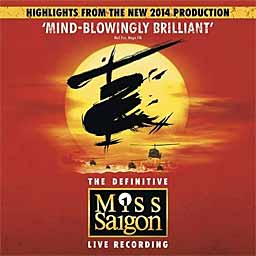 MISS SAIGON (2014 New London Cast) Live - CD