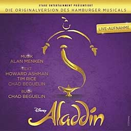 ALADDIN (2016 Orig. Hamburg Cast) - Live - CD