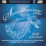 Playback! Sondheim Solos: Male Selections - CD